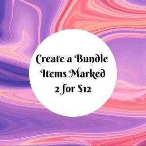 Other - 🌼Create A Bundle 2/$12🌼